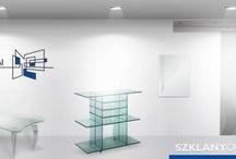 Szklane meble / Szklane Meble - House furniture made of Glass