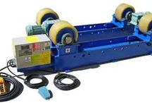 turning rolls / Turning rolls for welding and painting tanks and cylindrical objects. Rotators for pipe and tank turning.