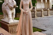 Long Anarkali Style Suits
