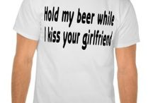 Funny Gifts - T-shirts, mugs, postcards and more / Funny quotes or stories printed on everything from posters to T-shirts. Hope you enjoy!