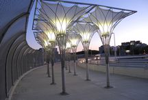 Translucent Fabric Structures / SEFAR Architecture Fabrics used in different structures