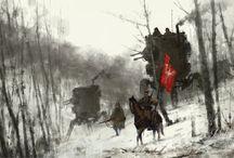 RPG, Fantasy, Characters
