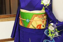 Kimono + Obi Patterns / Actually, colours in a kimono ensemble are combined according to general colour theories. Colour wheels, hues, lightness, degree of purity; complementary and split complementary, monochromatic, analogous colours, etc. Japanese have always been using colour harmonies very creatively. But their use of colours fits within general colour theories.