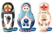 Ilona Partanen / Ilona Partanen (b. 1986) is Helsinki-based illustrator & graphic designer.