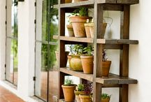 shelf herb garden