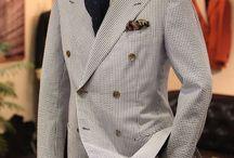 Men - Seersucker Jackets/Blazers
