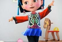 3d Cartoon Characters Inspiration