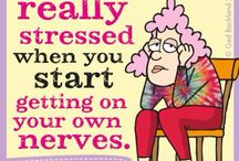 aunty acid / Because some days I'm just sick of it...!