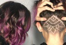 Hair mandala