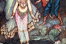 Warwick Goble Indian Inspired Art
