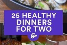 Healthy dinners for 2