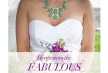 Here comes the fabulous bride / Statement jewels are all the rage for today's brides.  / by lia sophia