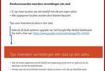 Google Mijn Bedrijf / Met Google Mijn Bedrijf kunnen bedrijven zelf hun bedrijf op Google zetten voor Search, Maps en Mobile. Het is de opvolger en vervanger van Google Places Zakelijk welke sindsdien niet meer bestaat.