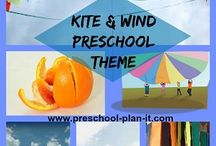 Kite Activities and Wind Preschool Theme / A preschool theme with activities for a Kite Activities and Wind Theme!