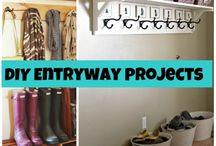 Home - Entry Way & Garage