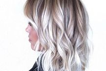 ombre hair blond blanc