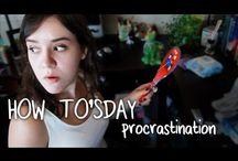 Procrastination & focus / STOP PROCRASTINATING ON FUCKING PINTEREST!!!!