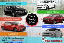 Car Brands / Different Car brands in Canada