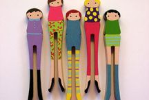 Clothespin dolls / by Elisabeth Doherty