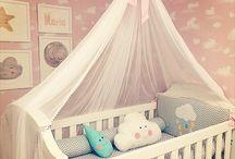 Quarto de bebê - decoração com quadros
