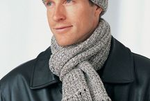 knitted and crochet scarves