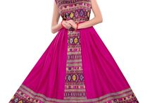 Pink Color #Printed #Unique Designer #Lehenga... at styloshopping.com