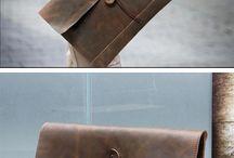 Bőr táskák, pénztárcák, egyéb bőr cuccok