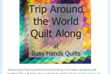 Trip Around the World Quilt Along with Benartex Gradations