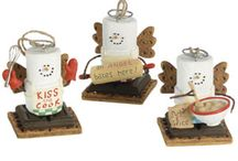 S'mores Original Ornaments by Midwest / Fun  S'mores ornaments by Midwest CBK 2015-2017 Just in stock the new 2017 S'mores ornaments!