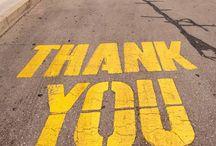 Dire merci ! / Il est toujours important de dire merci mais comment le faire de façon originale ?