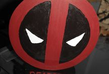 repose  casque Deadpool