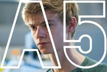 The maze runner (mostly just pictures of Thomas Sangster)