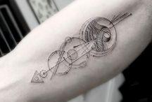 Geometryczne tatuaże