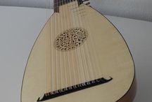 Baroque Lute and Guitar / Late baroque lutes and guitars made by James Marriage for the German baroque lute repertoire