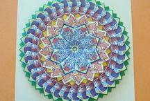 Origami mandaly