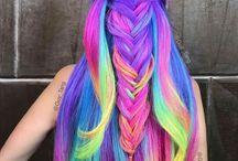 Păr curcubeu
