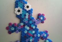 Crafts - Perler Beads Designs / by lahs