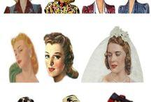 Peinados 1941-1950
