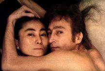 """Lennon / """"His [John Lennon's] death affected millions of people, record sales soared, and he continues to be admired by new generations of fans."""" John Lennon Biography © 2009 A&E Television Networks. All rights reserved. (From Biography.com) It's true. RIP John / by Sarah McClanahan"""