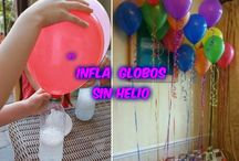 inflar globos sin helio