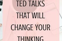 TED talks and podcasts