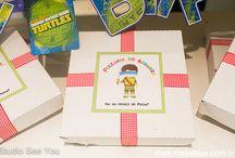 cumpleaños tortuga ninja