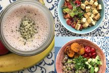 What I eat in a dat - Healthy, vegan and gluten free meals
