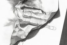 Dibujos / Dibuxos, línia