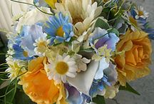 mixed pastel bouquets