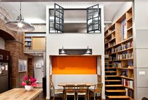 Loft Design Inspiration / You know by now that we LOVE interior design and we love as well Lofts!
