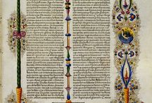 middle ages-bible writing