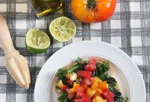 Herbs, Herbs, Herbs / Vegan food and beverages, featuring fresh or dried herbs.