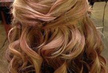 Hair for Jordan's wedding