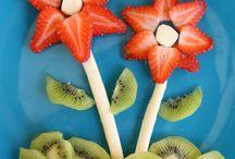 Meyveli sunumlar